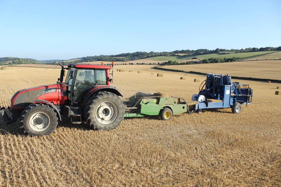 TN Tractor & baler