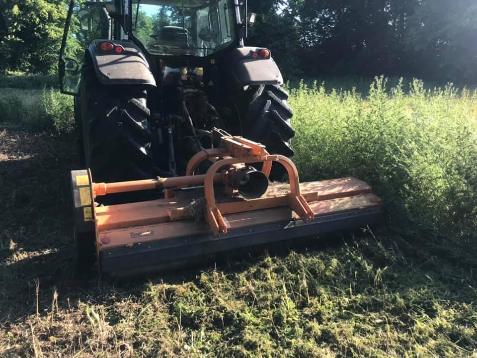 TN tractor in field 1