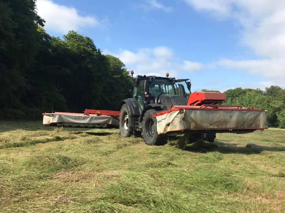 TN tractor & mower